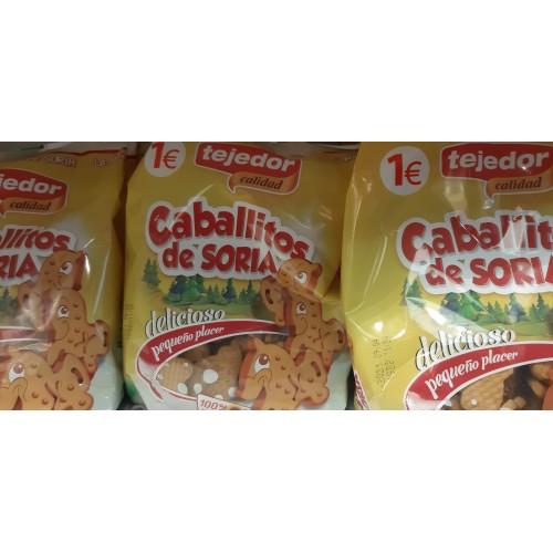 Galletas Caballito  Caja 10 bolsas