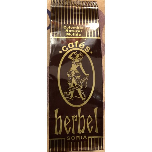 Café Herbel Natural Colombia 250 gr. Molido