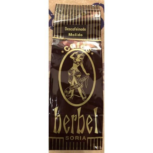 Café Herbel descafeinado 250 gr. Molido