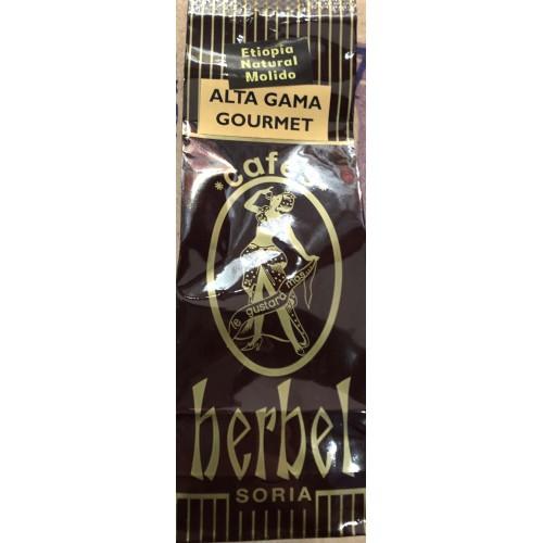 Café Herbel Gourmet natural Etiopía 250 gr. Molido