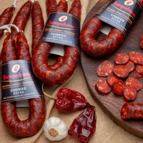 Chorizo extra Sampedrano sarta 300 gr aprox