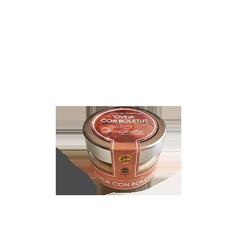 Crema de queso de Oncala con boletus 110 GR