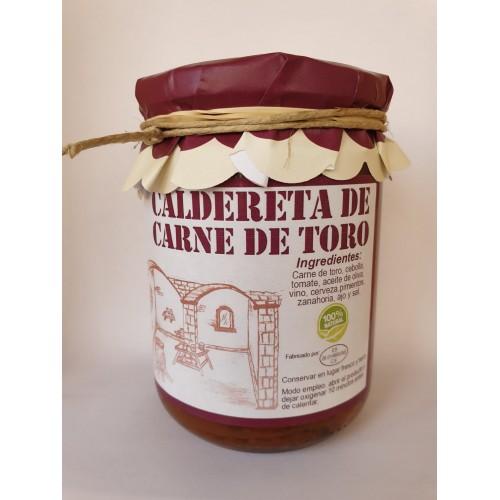 PROXIMAMENTE Caldereta de carne de toro. 420 gr