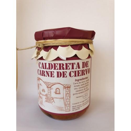 PROXIMAMENTE Caldereta de carne de ciervo. 420 gr