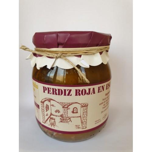 PROXIMAMENTE Perdiz roja en escabeche. 560 gr