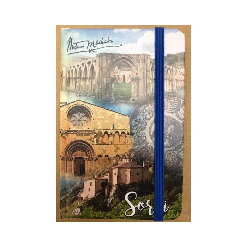 Libreta monumentos de Soria. 9 x 14 cm