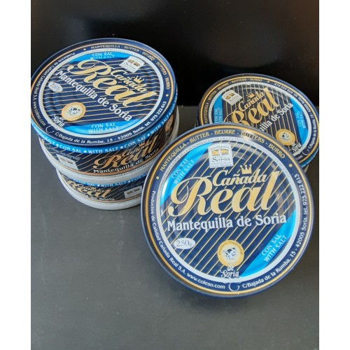 Pack 4 latas mantequilla con sal 250 gr
