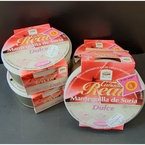 Pack 4 latas mantequilla dulce 120 gr