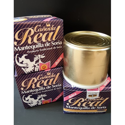 Pack 4 latas mantequilla dulce 250 gr