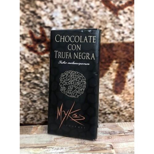 Chocolate con trufa negra