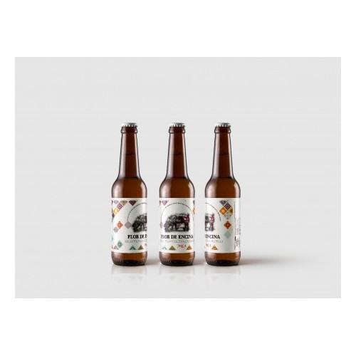 Cerveza Mica Flor de encina de Florencio Sanchidrián