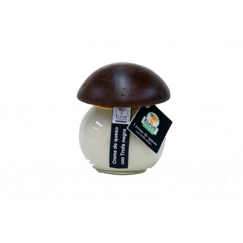 Crema de queso de oveja con trufa negra 100 gr