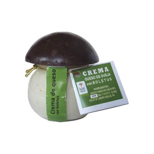 Crema de queso de oveja con boletus 100 gr