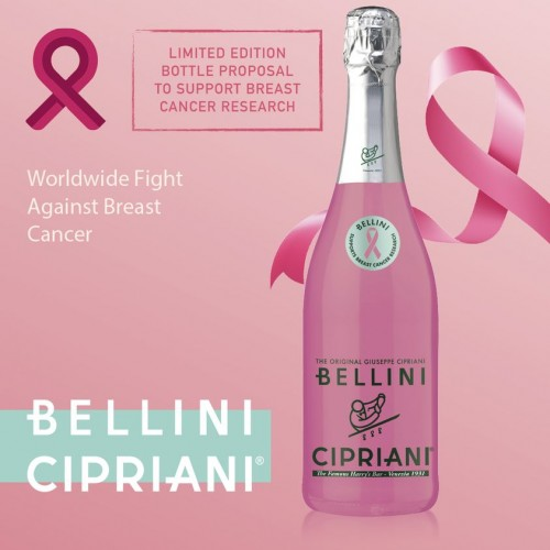 Cocktail Pink  Bellini, bot 75 cl