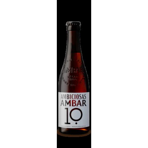 Cerveza Ambar 10 33 cl, 10º