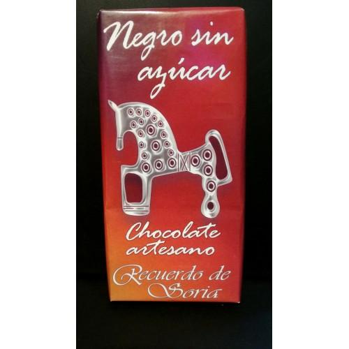 Chocolate negro sin azúcar