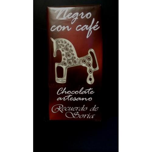 Chocolate negro con café