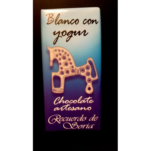 Chocolate blanco con yogurt