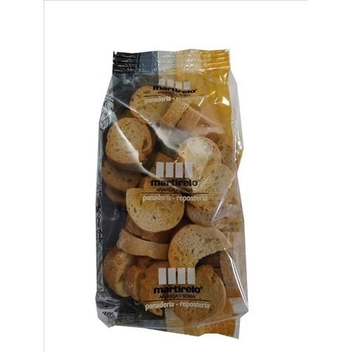 Redonditas de pan naturales Martirelo. Bolsa 120 gr