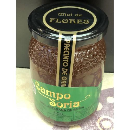 Pack 2 Miel de Soria. Flores. Tarro 500 gr