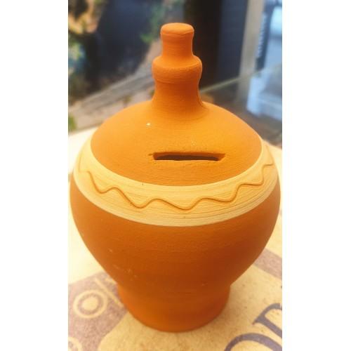 Hucha cerámica tradicional