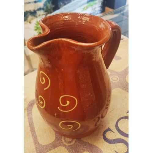 Jarra espiral cerámica