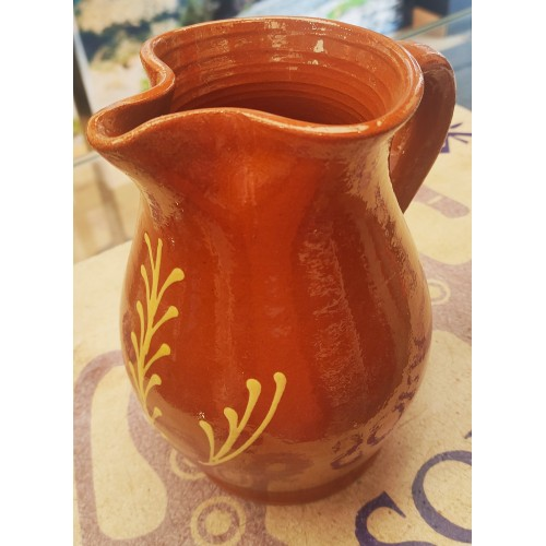 Jarra espiga cerámica