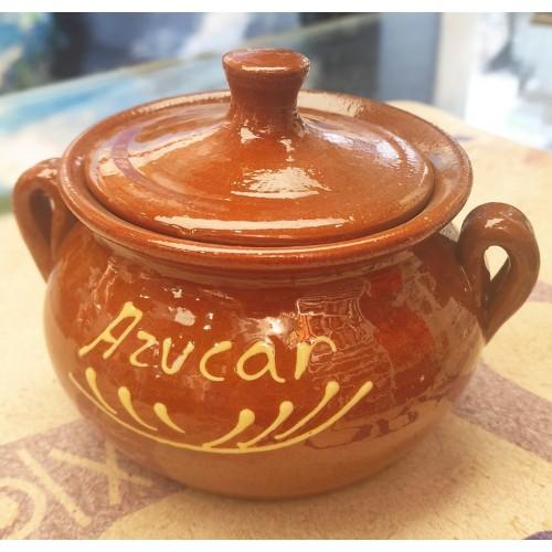 Azucarero artesanal