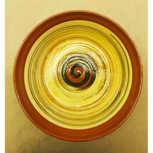Ensaladera cerámica artesanal modelo 1