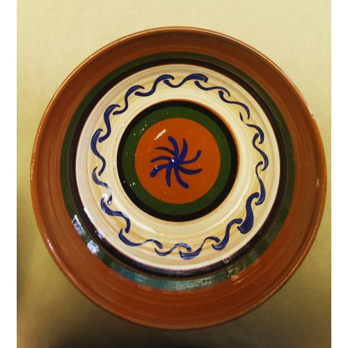 Ensaladera cerámica artesanal modelo 2