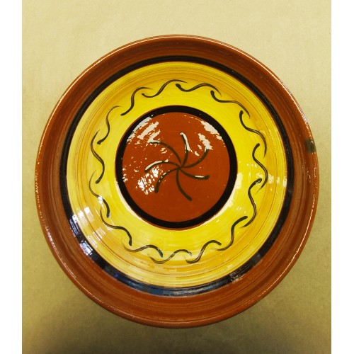 Ensaladera cerámica artesanal modelo 4