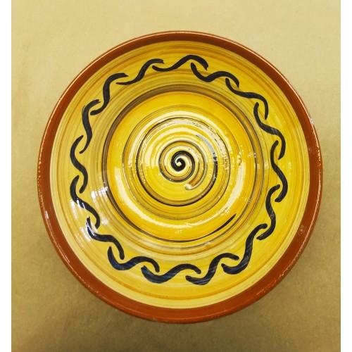 Ensaladera cerámica artesanal modelo 5