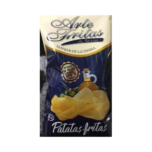Patatas fritas con aceite de oliva Artefritas 150 gr