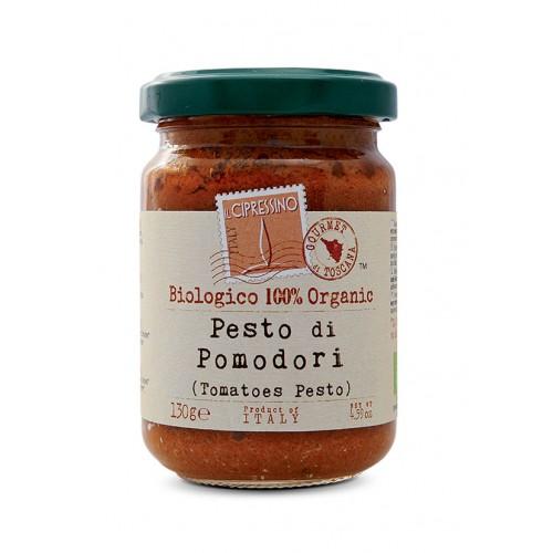 Salsa Pesto BIO Italiana con tomate Il Cipressino 130 gr