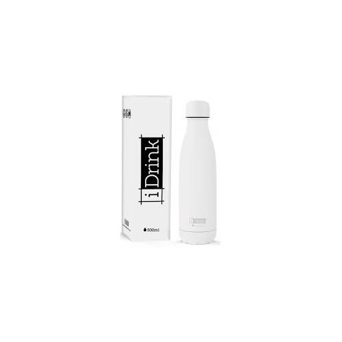 Botella térmica blanca 500 ml