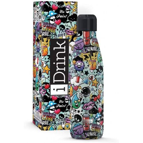 Botella térmica graffiti 750 ml