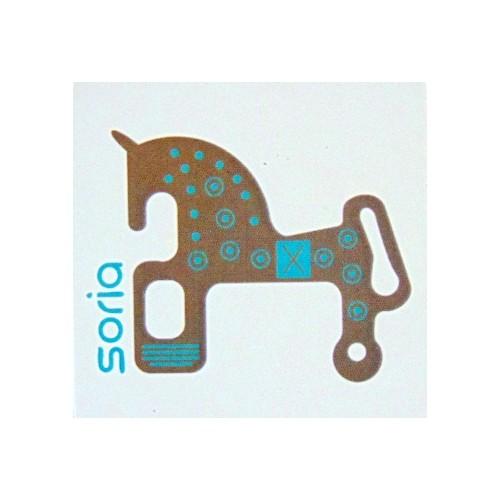 Imán caballo de Soria