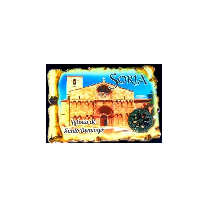 Imán Santo Domingo detalle rosetón