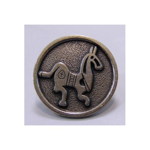 Pin celtíbero caballo terracota