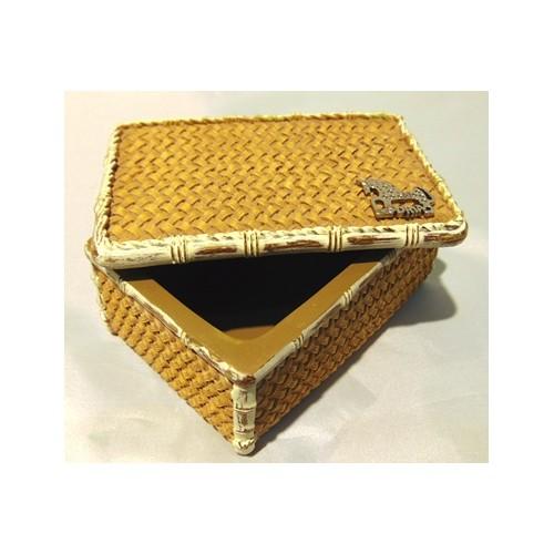 Caja imitación bambú