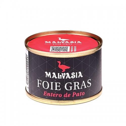 Foie Gras entero, lata circular 65 gr