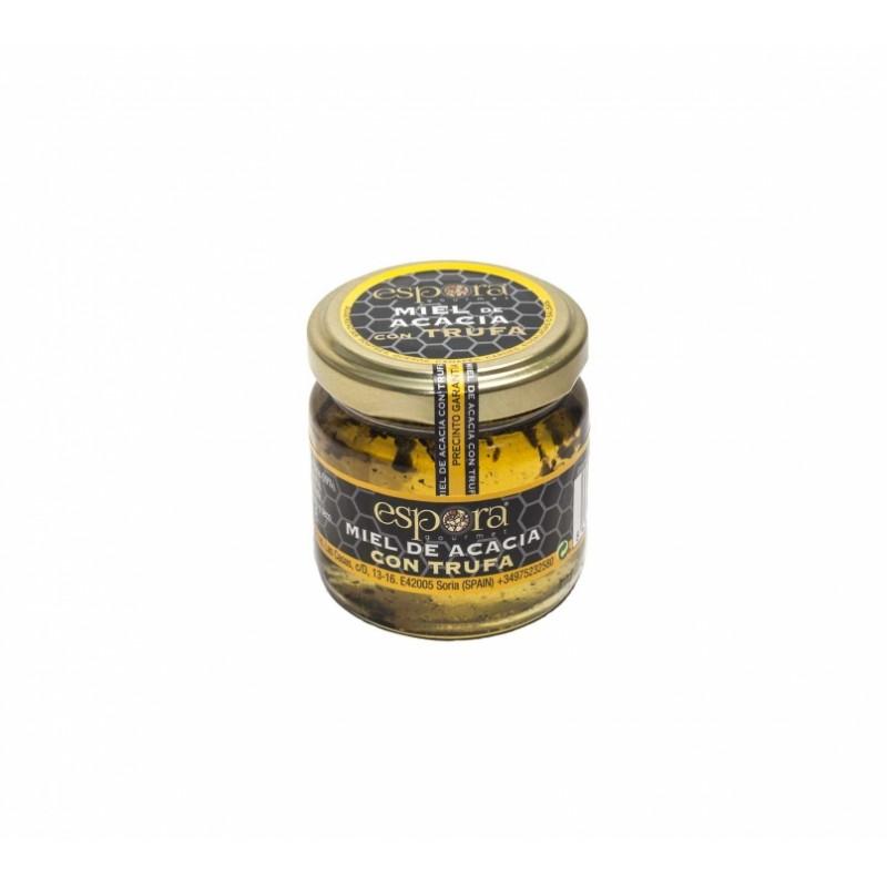 Miel de acacia con trufa negra