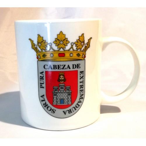 Taza escudo Soria
