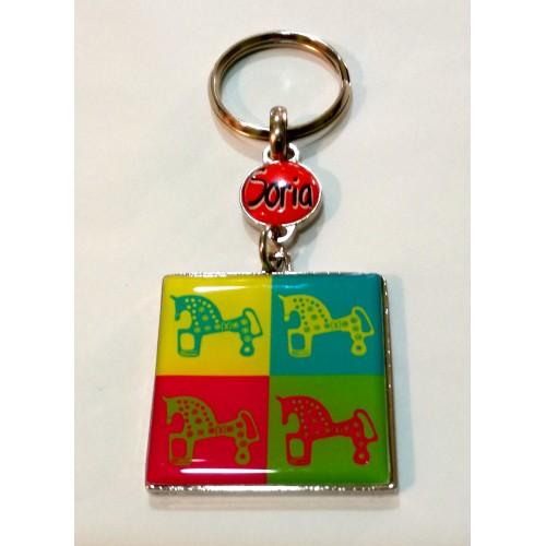Llavero caballos color