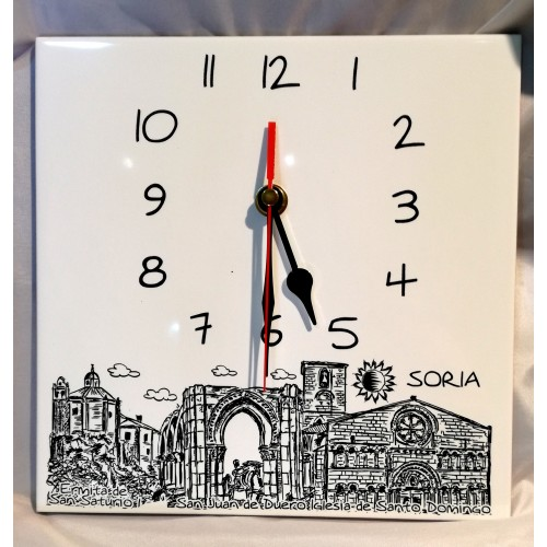Reloj plumilla