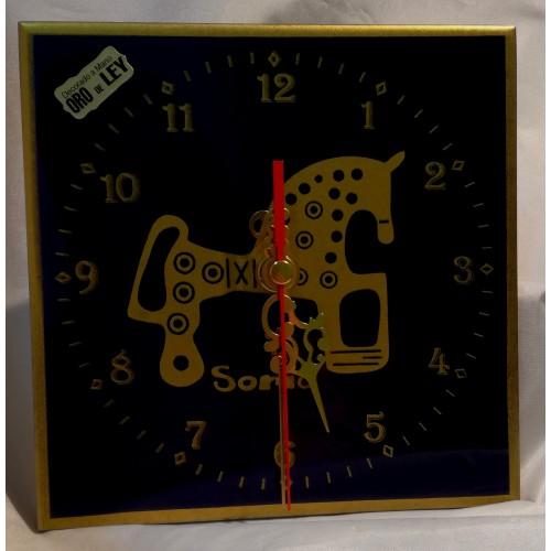 Reloj cobalto caballo