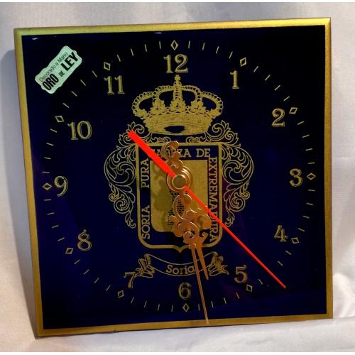 Reloj cobalto escudo