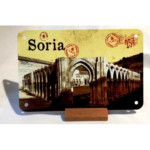 Placa metal Arcos de San Juan