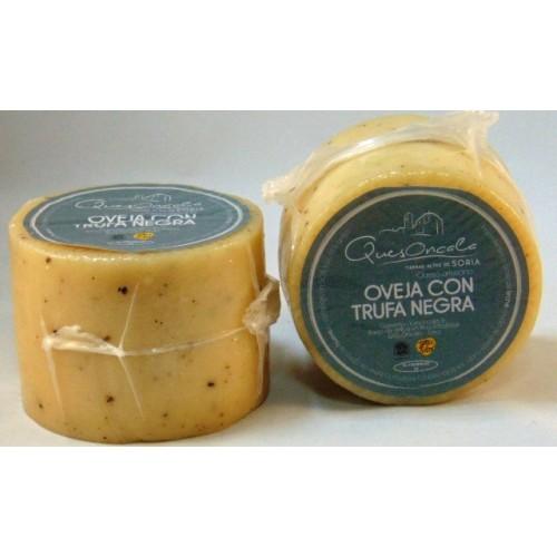 Queso de Oncala.  Oveja con trufa negra, pza 600 gr