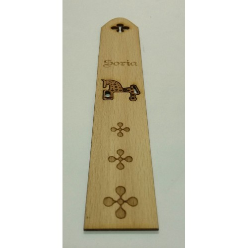 Marcapáginas de madera 1